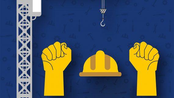 การใช้สัญญาณมือ ในการบังคับใช้งานเครน