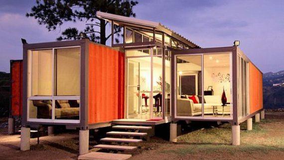 ไอเดียสร้างบ้านและ OFFICE ด้วยตู้คอนเทนเนอร์ เก่าๆ