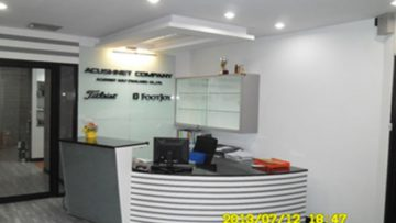 Office interior of Acushnet Golf (Thailand)