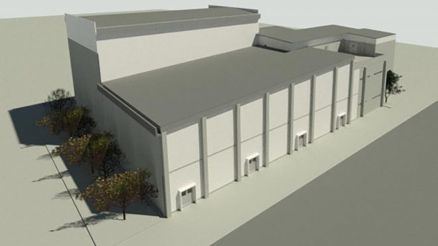 Renovation of Integrated End of Line Packing and Storage Mass Production Building