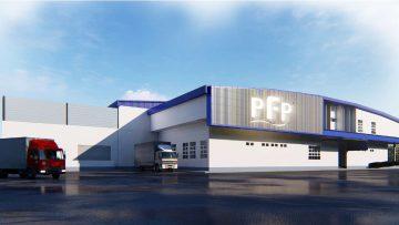 อาคารโรงงาน  PFP Factory